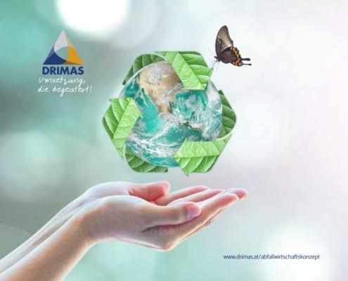 DRIMAS | Abfallwirtschaftskonzept | betriebliche Abfälle | Abfallvermeidung | Abfallmanagement | Gewerbe | Betriebsanlagengenehmigung